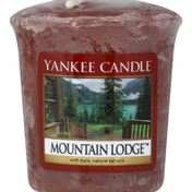 Yankee Candle Candle, Votive, Mountain Lodge
