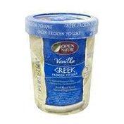 Open Nature Vanilla Greek Frozen Yogurt