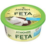Athenos Chunk Traditional Feta Cheese Packed in Brine