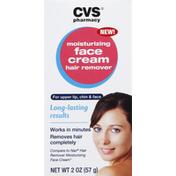 CVS Pharmacy Hair Remover, Moisturizing Face Cream