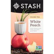 Stash Tea Oolong Tea, White Peach, Bags