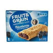 Meijer Blueberry Fruit & Grain Breakfast Bars