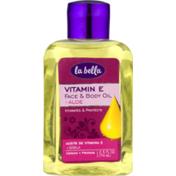 La Bella Vitamin E Face & Body Oil + Aloe