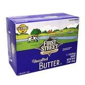 First Street Unsalted Butter