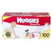 Huggies SNUG & DRY Diapers Step 5 Hi-Count JR 100