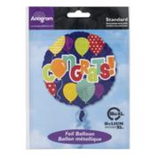 Anagram Standard Foil Balloon Congrats!