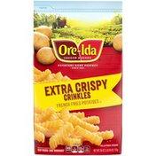 Ore-Ida Extra Crispy Crinkles French Fries Fried Frozen Potatoes