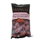 Marich Dried Strawberries In Rich Dark Chocolate