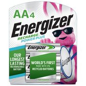 Energizer Rechargeable AA Batteries, Double A Batteries