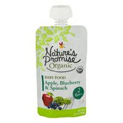 Nature's Promise Organic Baby Food Apple, Blueberry & Spinach