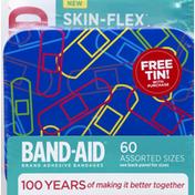 Band-Aid Bandages, Assorted Sizes