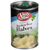 Shurfine Bartlett Pear Halves In Pear Juice From Concentrate