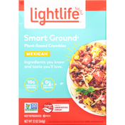 Lightlife Crumbles, Mexican, Plant-Based