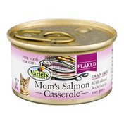 Variety Pet Foods Variety Flaked Cat Food Mom's Salmon Casserole