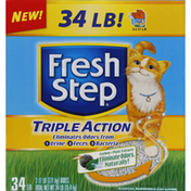 Fresh Step Cat Litter, Scoopable, Triple Action, Scented