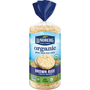 Lundberg Family Farms Brown Rice Organic Rice Cakes Lightly Salted