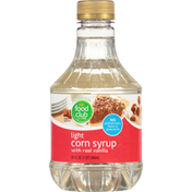 Food Club Corn Syrup with Real Vanilla, Light