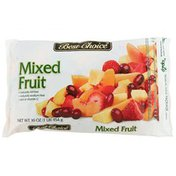 Best Choice Mixed Fruit Sliced Strawberries, Sliced Peaches, Pineapple Chunks And Red Seedless Grapes