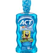 ACT Kids Anticavity Fluoride Rinse Spongebob Squarepants Ocean Berry