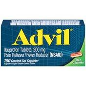 Advil 200mg Ibuprofen Coated Gel Caplets, 200mg Ibuprofen Coated Gel Caplets