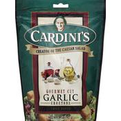 Cardini's Croutons, Gourmet Cut, Garlic