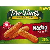Mrs. Paul's Fish Sticks, Nacho Seasoned, XL