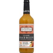 Powell & Mahoney Cocktail Mixer, Peach Bellini, Non-Alcoholic