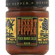 Desert Pepper Salsa, Peach Mango, Medium Hot
