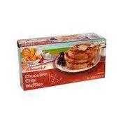 Schnucks Chocolate Chip Waffles