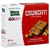Kashi Protein & Fiber Bar, Chocolate Peanut, Crunchy