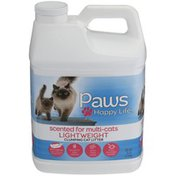 Paws Happy Life Lightweight Scoopable Cat Scented Litter