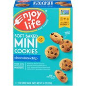 Enjoy Life Foods Chocolate Chip Soft Baked Mini Cookies