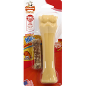 Nylabone Dog Toy + Dog Chew, Peanut Butter Flavor, X-Large