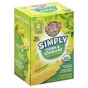 Earth's Best Veggies, Freeze Dried, Simply Corn & Edamame, 12+ Months