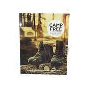 Lonesomeburger Press Camp Free in the Willamette National Forest