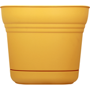 Bloem Planter, Saturn Earthy Yellow, 14 Inches