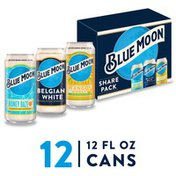 Blue Moon Wheat Beer, Cans
