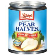 Libby's Bartlett Halves In Heavy Syrup Pears
