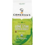 Camerons Coffee, Organic, Whole Bean, Dark Roast, Lone Star French Roast