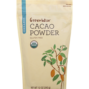 GreenWise Cacao Powder, Organic