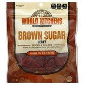 World Kitchens Jerky, Brown Sugar, Sliced & Shaped
