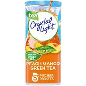 Crystal Light Peach Mango Green Tea Naturally Flavored Powdered Drink Mix