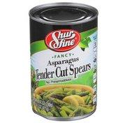 Shurfine Fancy Asparagus Tender Cut Spears