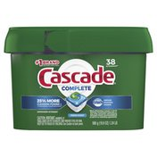 Cascade Complete Actionpacs, Dishwasher Detergent, Fresh Scent