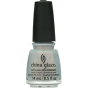 China Glaze Nail Lacquer with Hardeners, Pearl Jammin' 1480