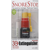 SnoreStop Extinguisher, Throat Sprays