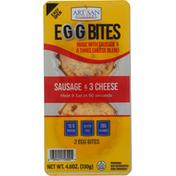 Artisan Kitchens Egg Bites, Sausage & 3 Cheese