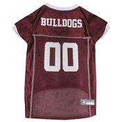 Doggie Nation Medium Sporty K9 Mississippi State Bulldogs Pet Mesh Football Jersey