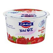 Fage Total 0% Nonfat Greek Strained Yogurt with Strawberry Goji