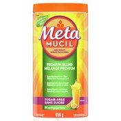 Metamucil Premium Blend, Psyllium Fibre Powder Supplement, Sugar-Free With